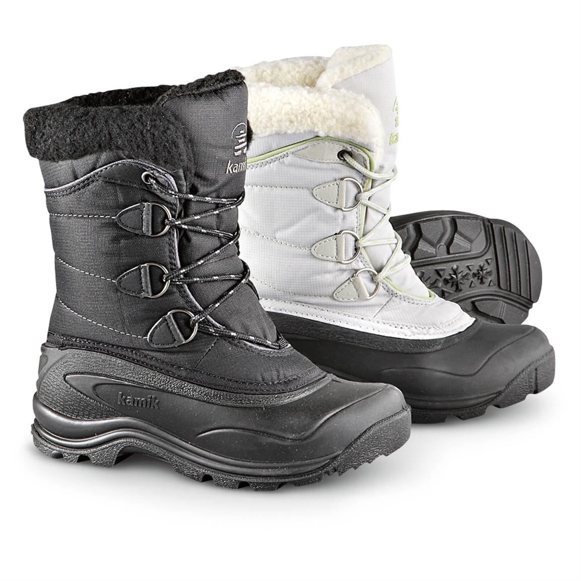 Women's Kamik® Waterproof Snowmass Pac Boots with 200 gram Thinsulate™ Insulation