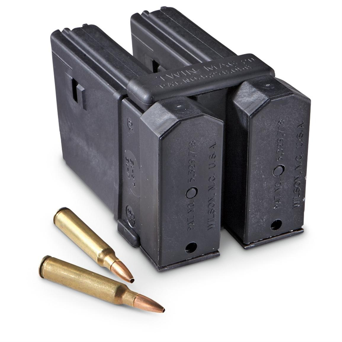 6 Thermold 20-rd. Mags with 3 Maglocks