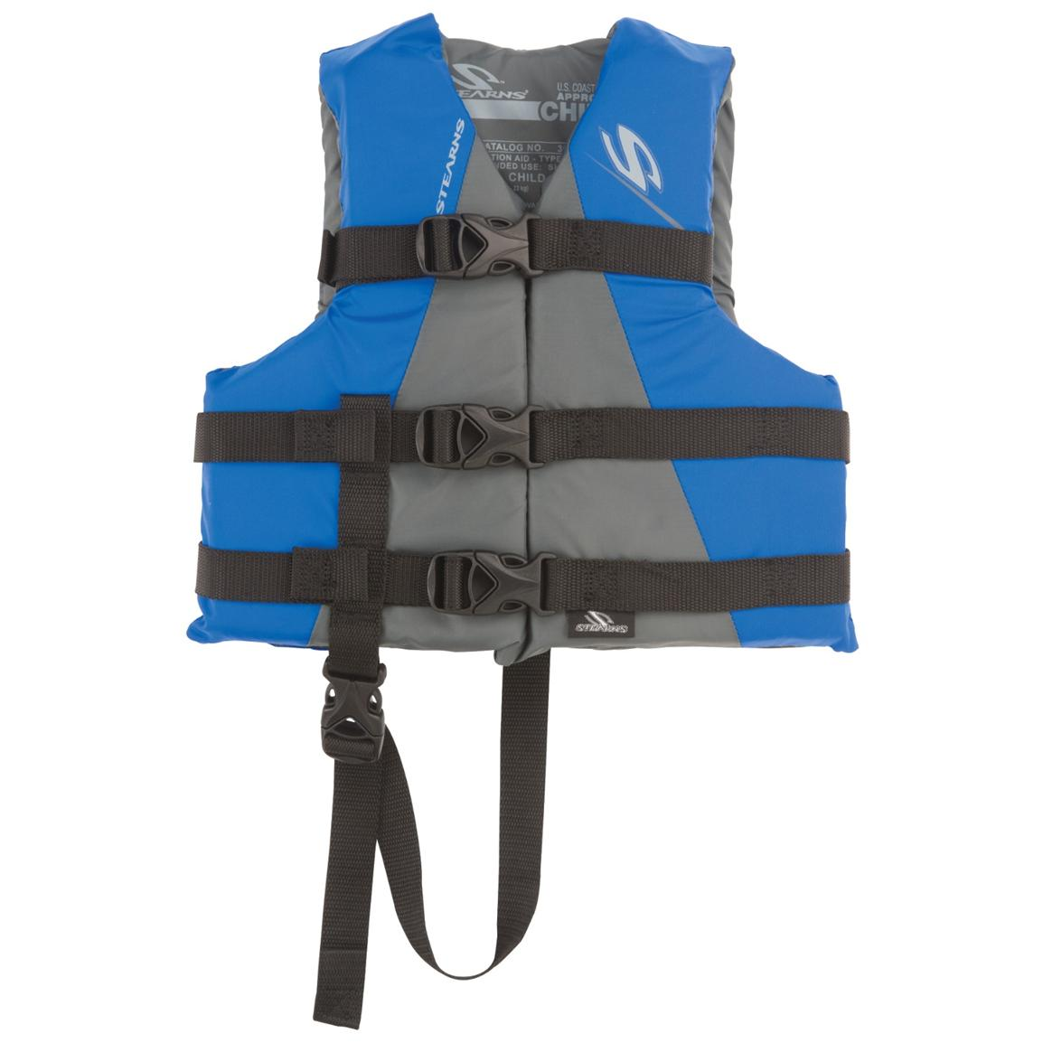 Stearns® Child Watersport Classic Series Life Jacket, Blue