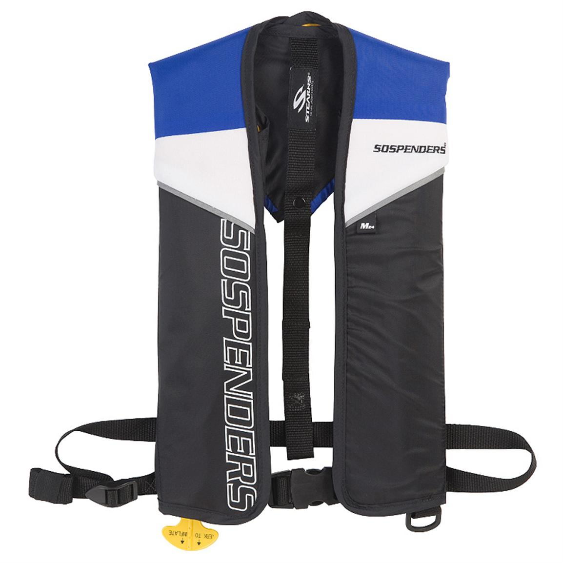 Stearns® Sospenders® Manual 24G Inflatable PFD, Blue