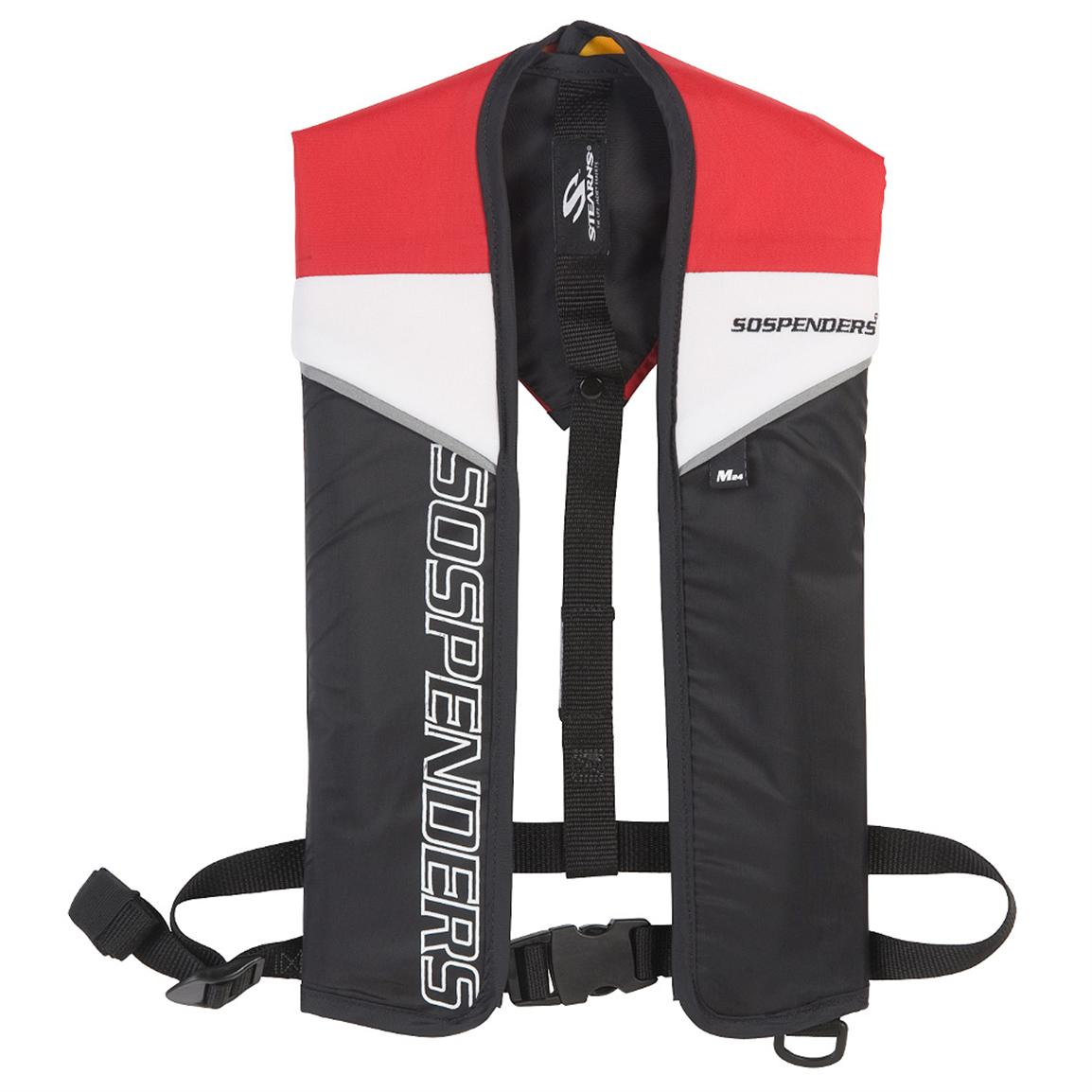 Stearns® Sospenders® Manual 24G Inflatable PFD, Red