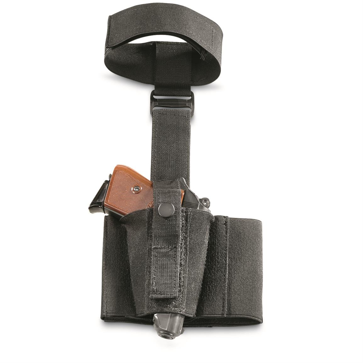Rugged nylon with adjustable grip-strip security