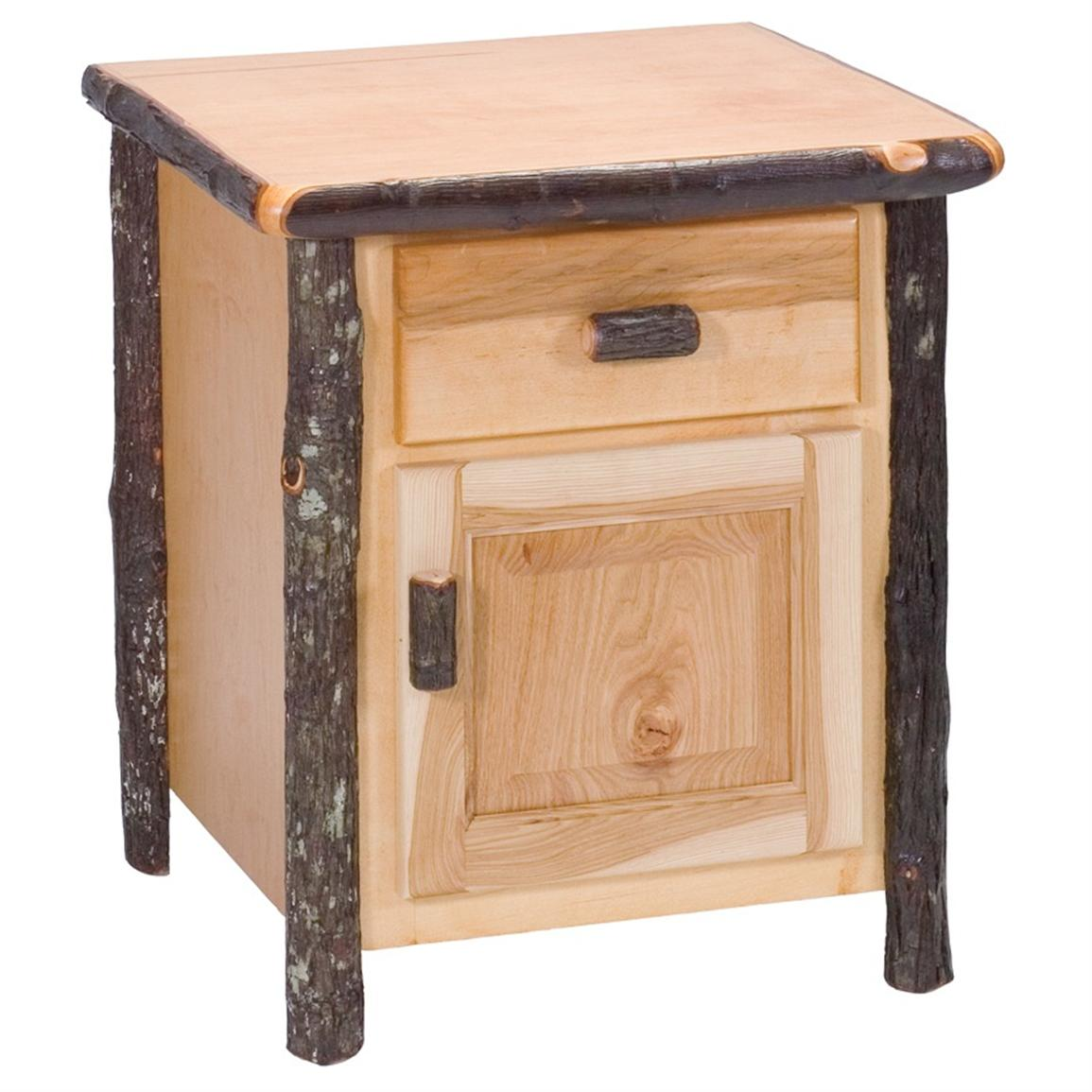 Fireside Lodge Hickory Enclosed Night Stand