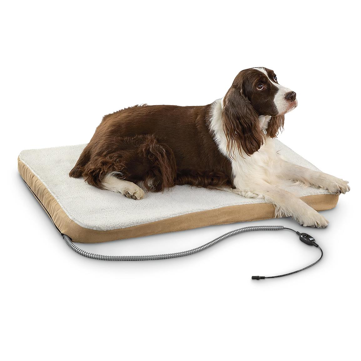 Comfort Ease 174 Large Heated Pet Bed 208873 Kennels