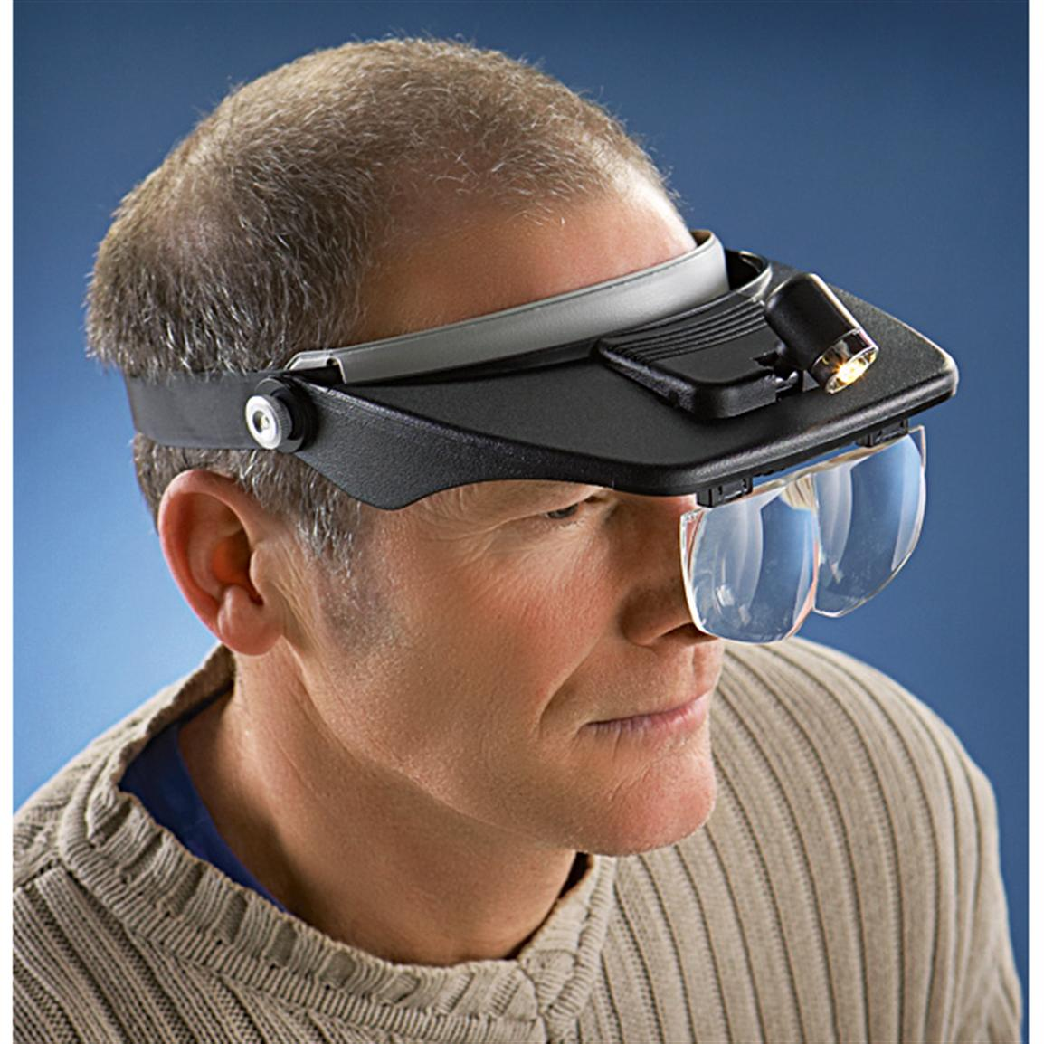 Lighted Head Vision Magnifier