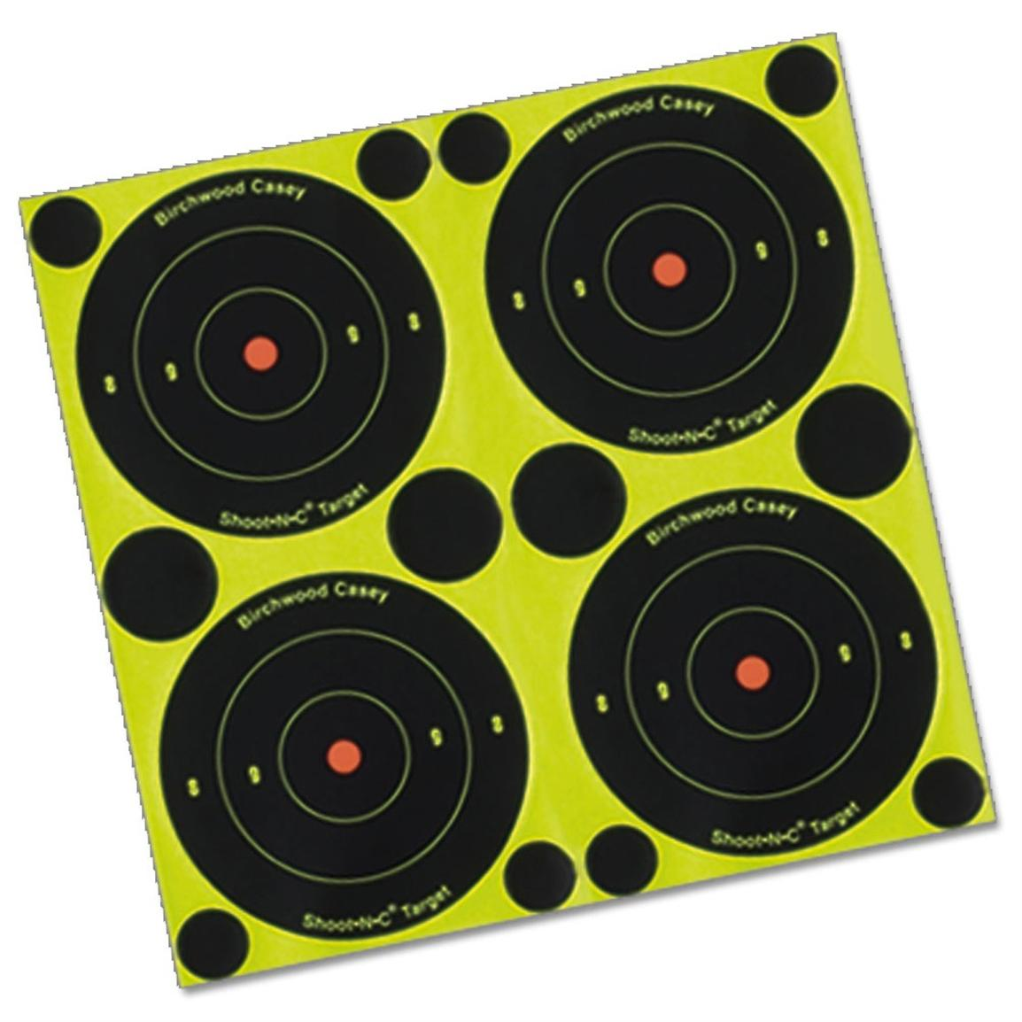 Birchwood Casey® Shoot-N-C® 3 inch Bull's Eye Target 1,000-Sheet Pack