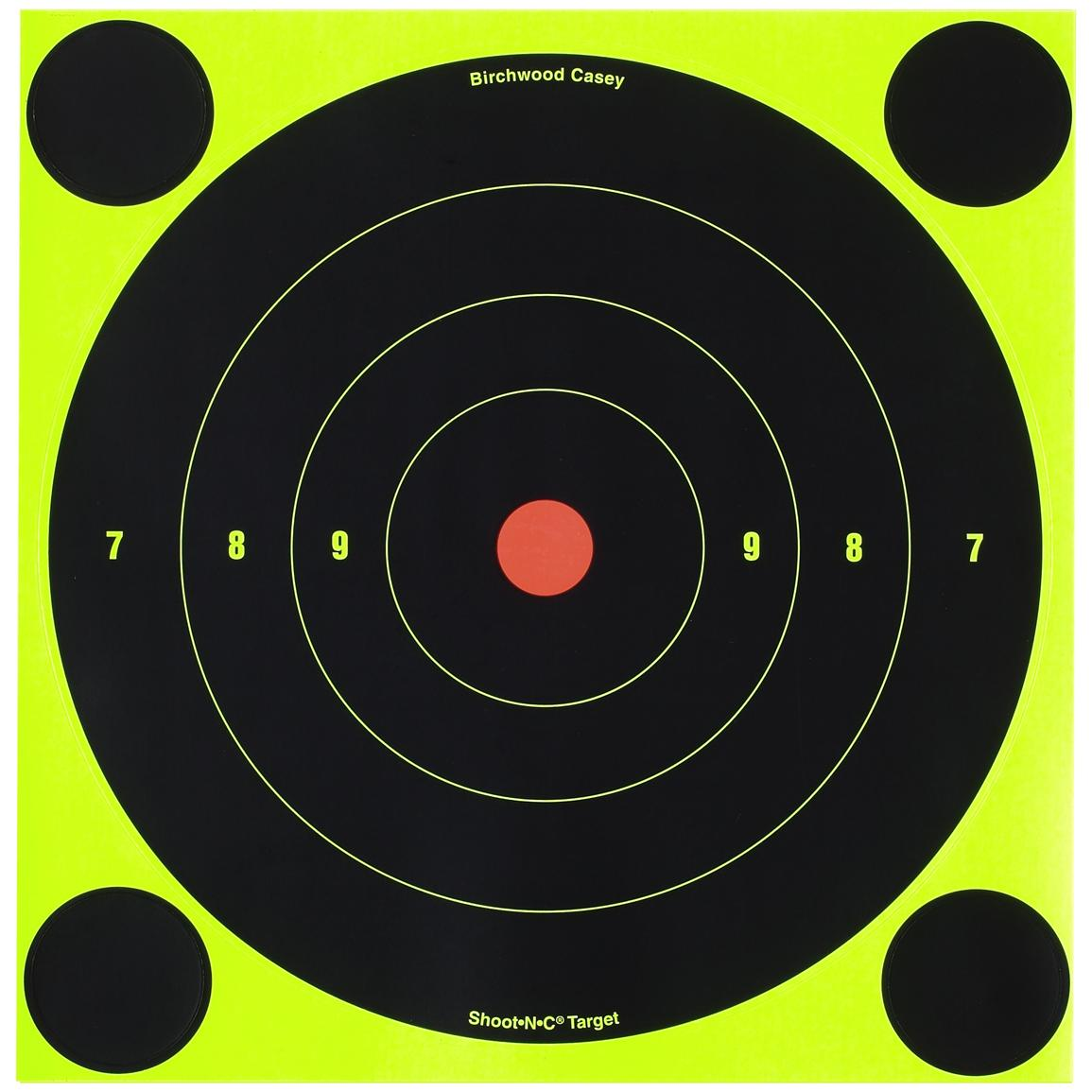 Birchwood Casey® Shoot-N-C® 8 inch Bull's Eye Target 500-Sheet Pack