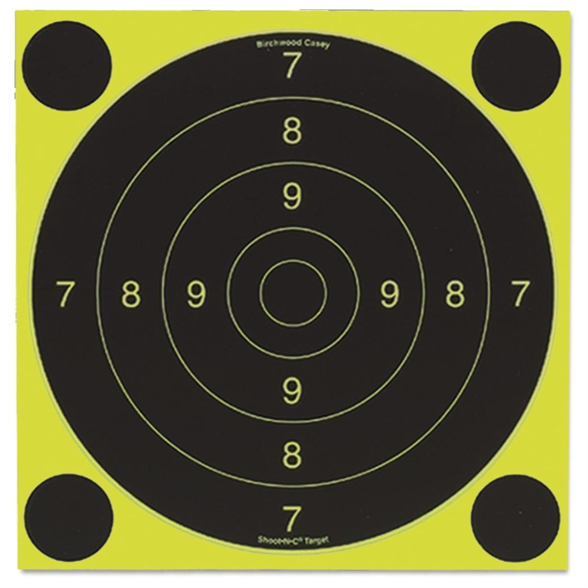 Birchwood Casey® Shoot-N-C® 20 cm Target International 25 / 50 Meter 500-Sheet Pack