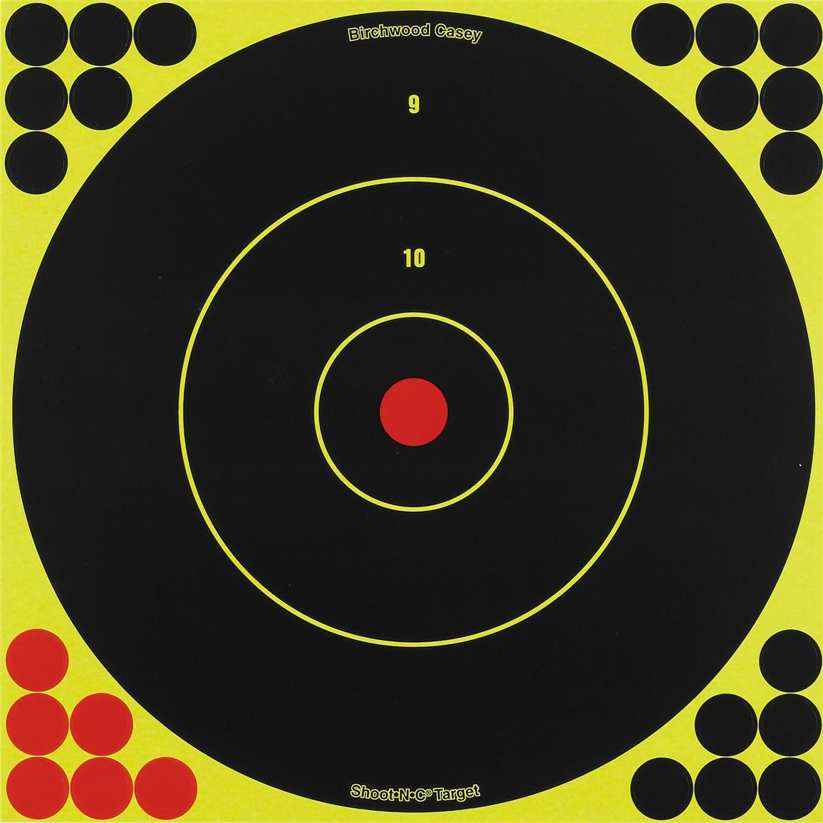 Birchwood Casey® 12 inch Shoot-N-C® Bull's Eye Target