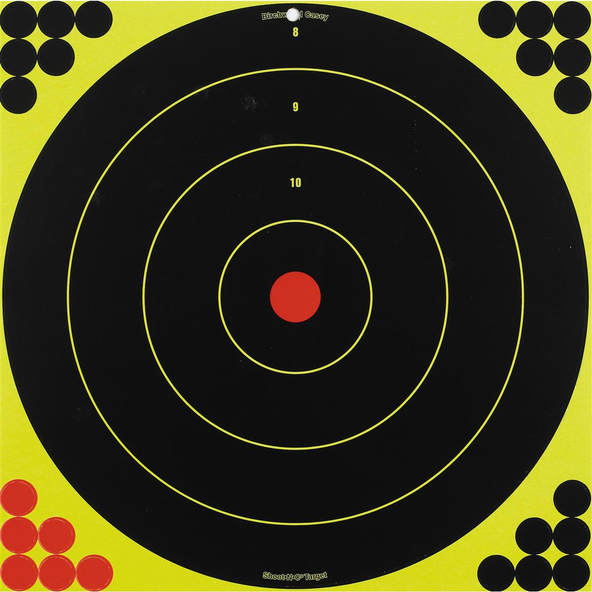 Birchwood Casey® 17 1/4 inch Shoot-N-C® Bull's Eye Target