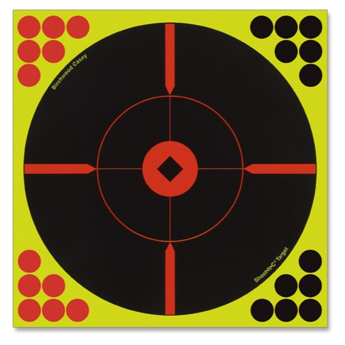 Birchwood Casey Shoot-N-C Bulls Eye BMW Target
