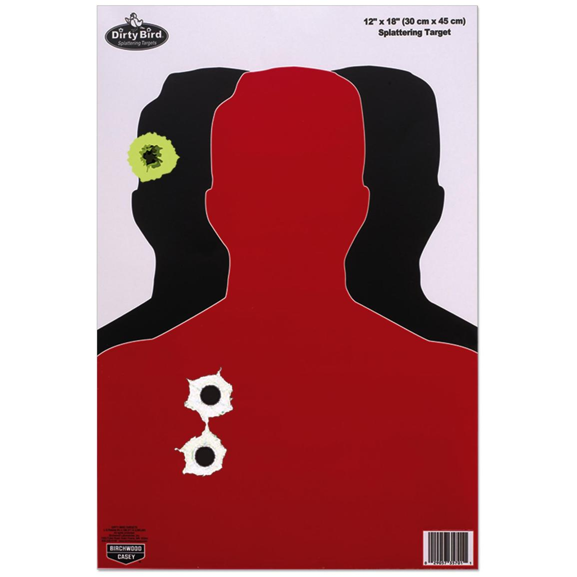 Birchwood Casey® Dirty Bird® 12x18 inch Target, 100-Pack