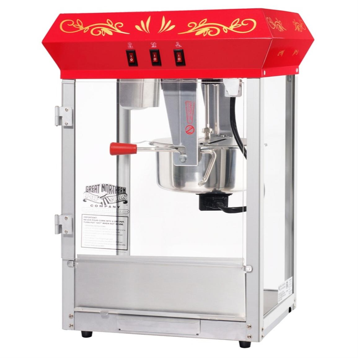 Great Northern Popcorn® All Star GNP 850 8 oz. Tabletop Popcorn Machine