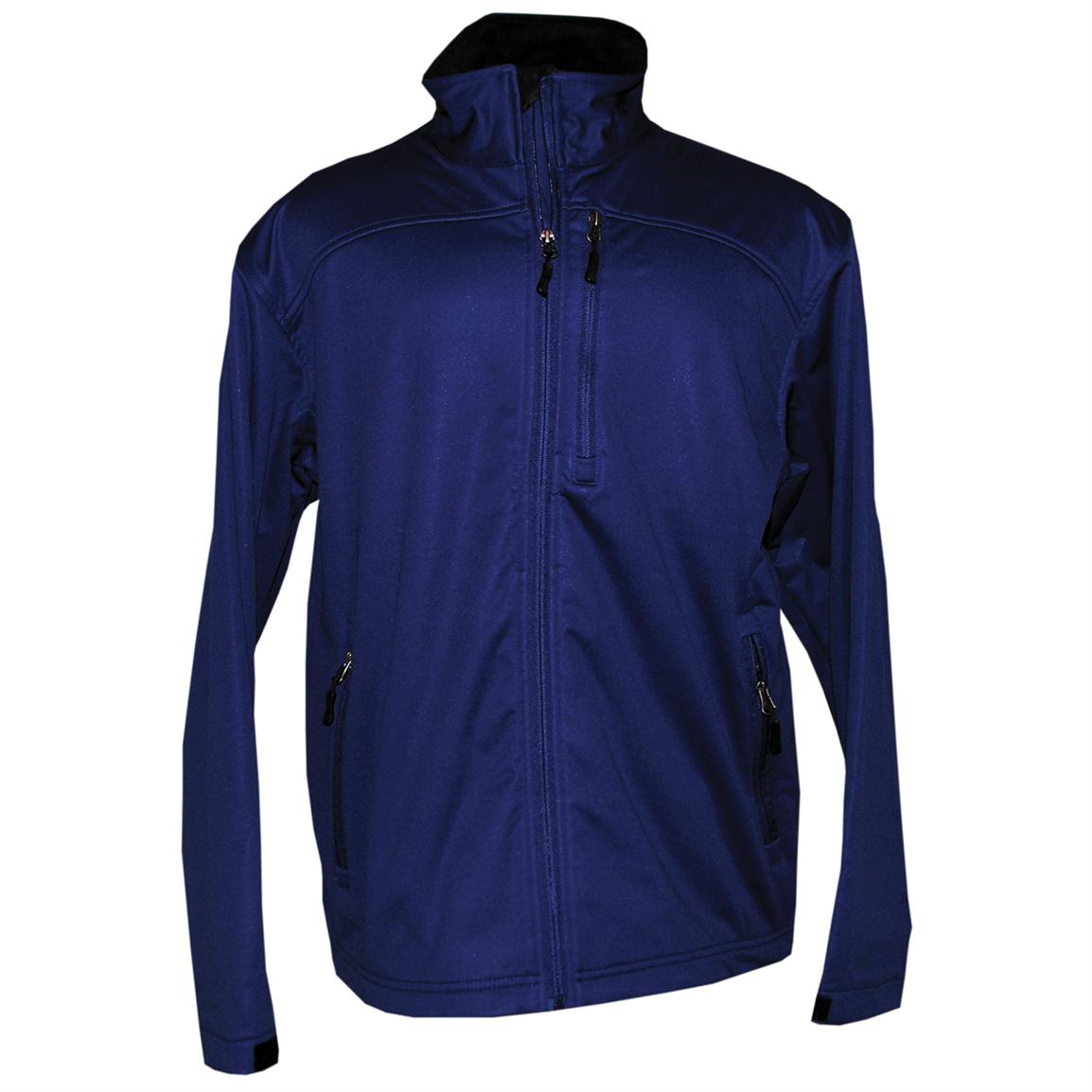 Page & Tuttle® Soft Shell Jacket, Blueprint