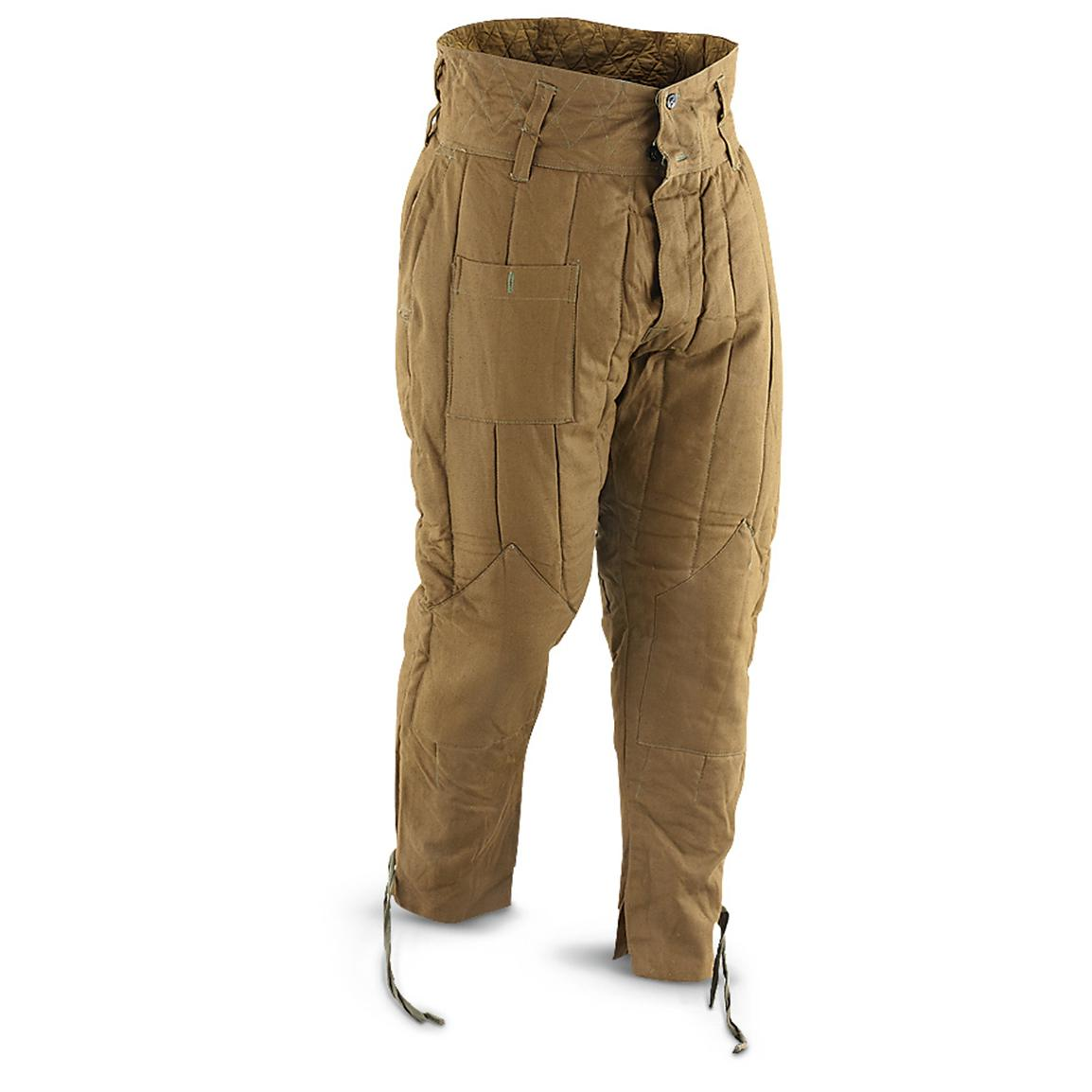 New Russian Military Surplus M43-style Pants, Brown