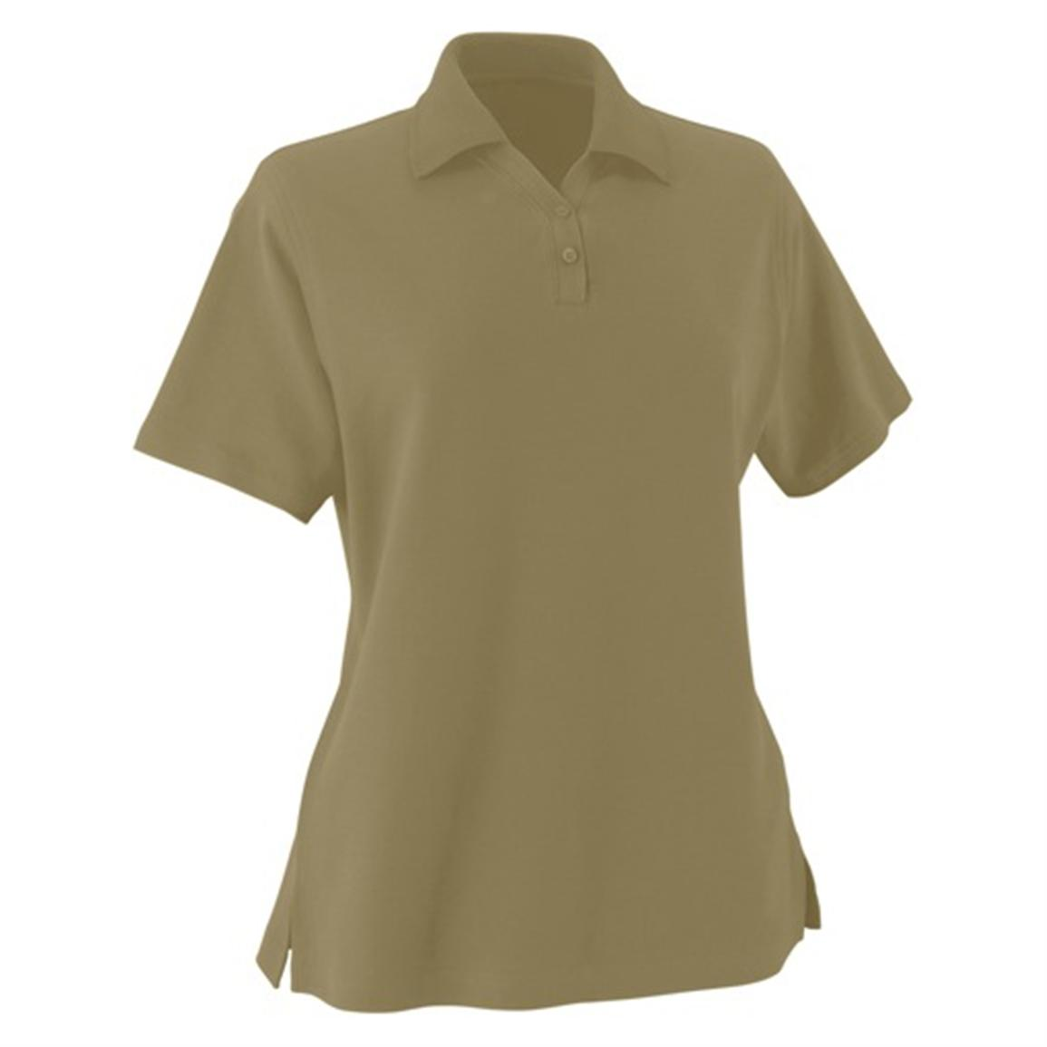 Women's Essential Ringspun Pique Polo from Jockey®, Sage