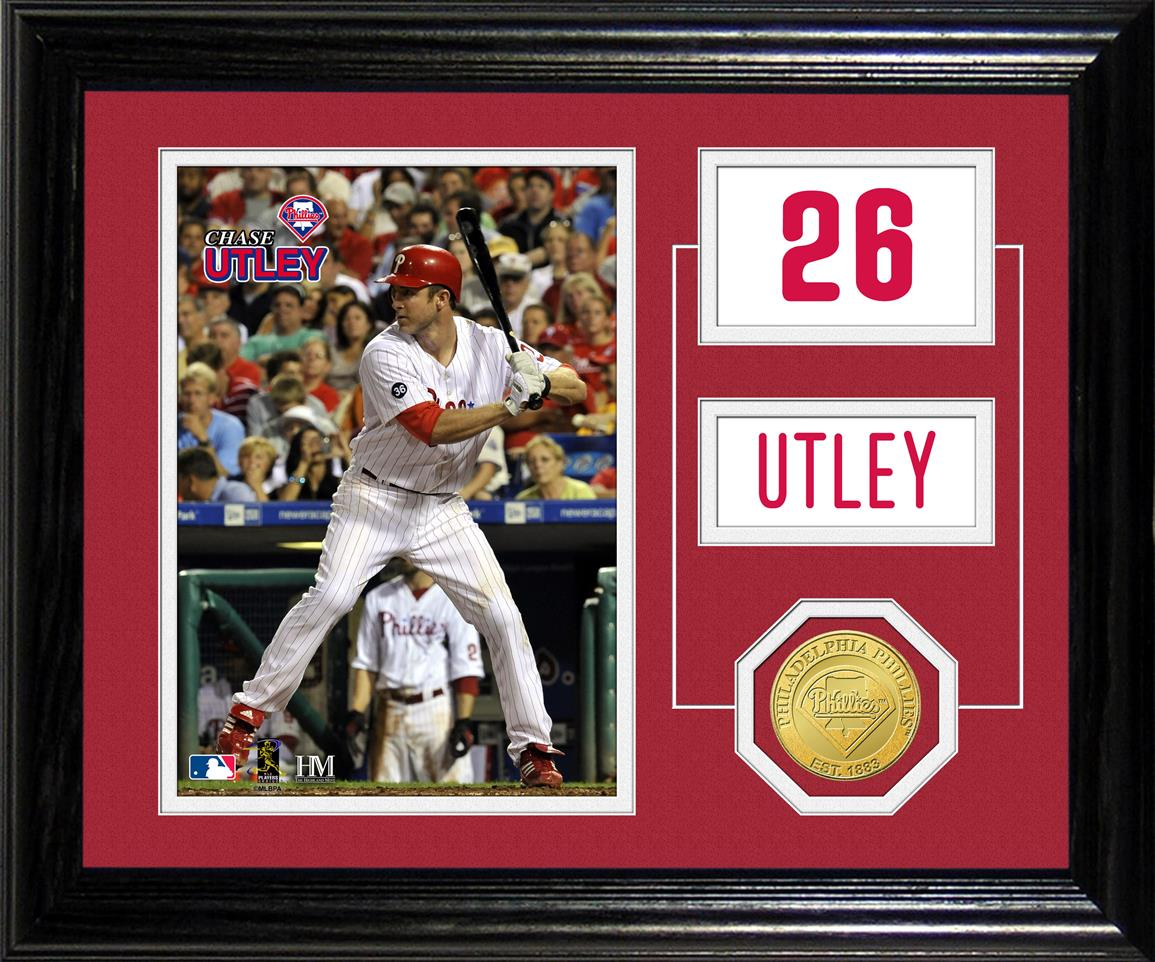 Chase Utley Player Pride Desktop Photo Mint