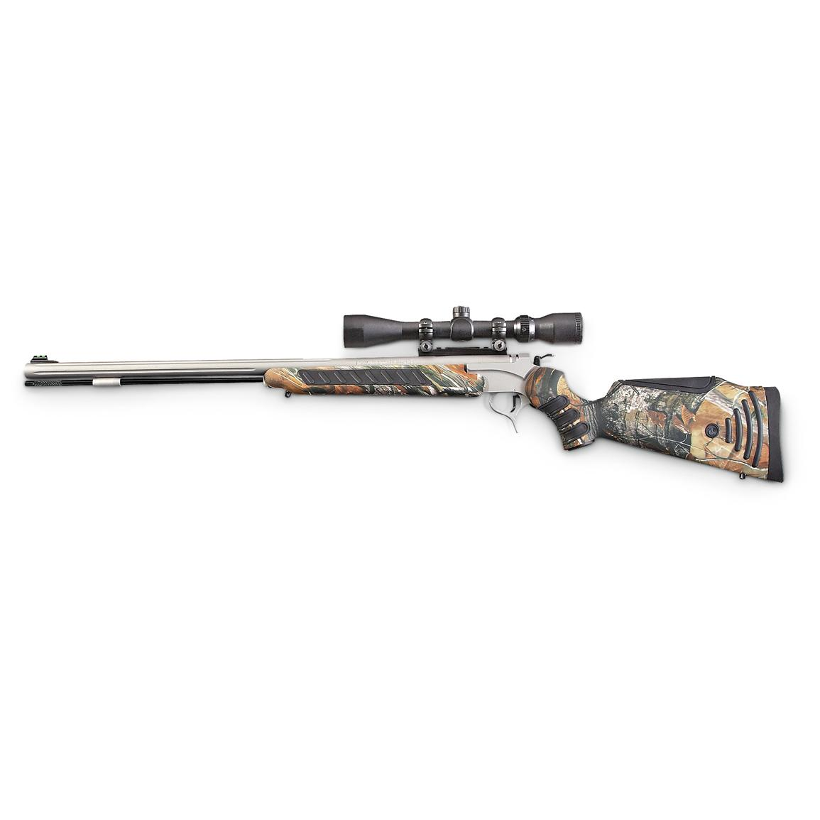 Thompson / Center Pro Hunter FX Muzzleloader with 3-9 x 40mm Scope, Realtree AP Camo / Stainless Steel