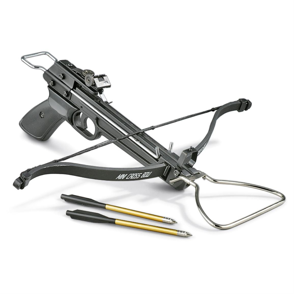 Pistol Crossbow, 80-lb Draw Weight - 209854, Crossbows at