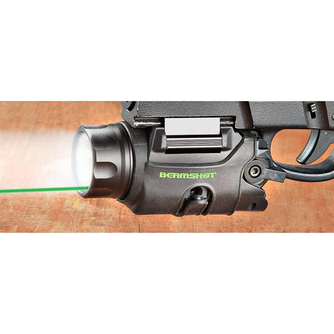 BEAMSHOT™ GB9000 Tactical Green Laser / Light Combo