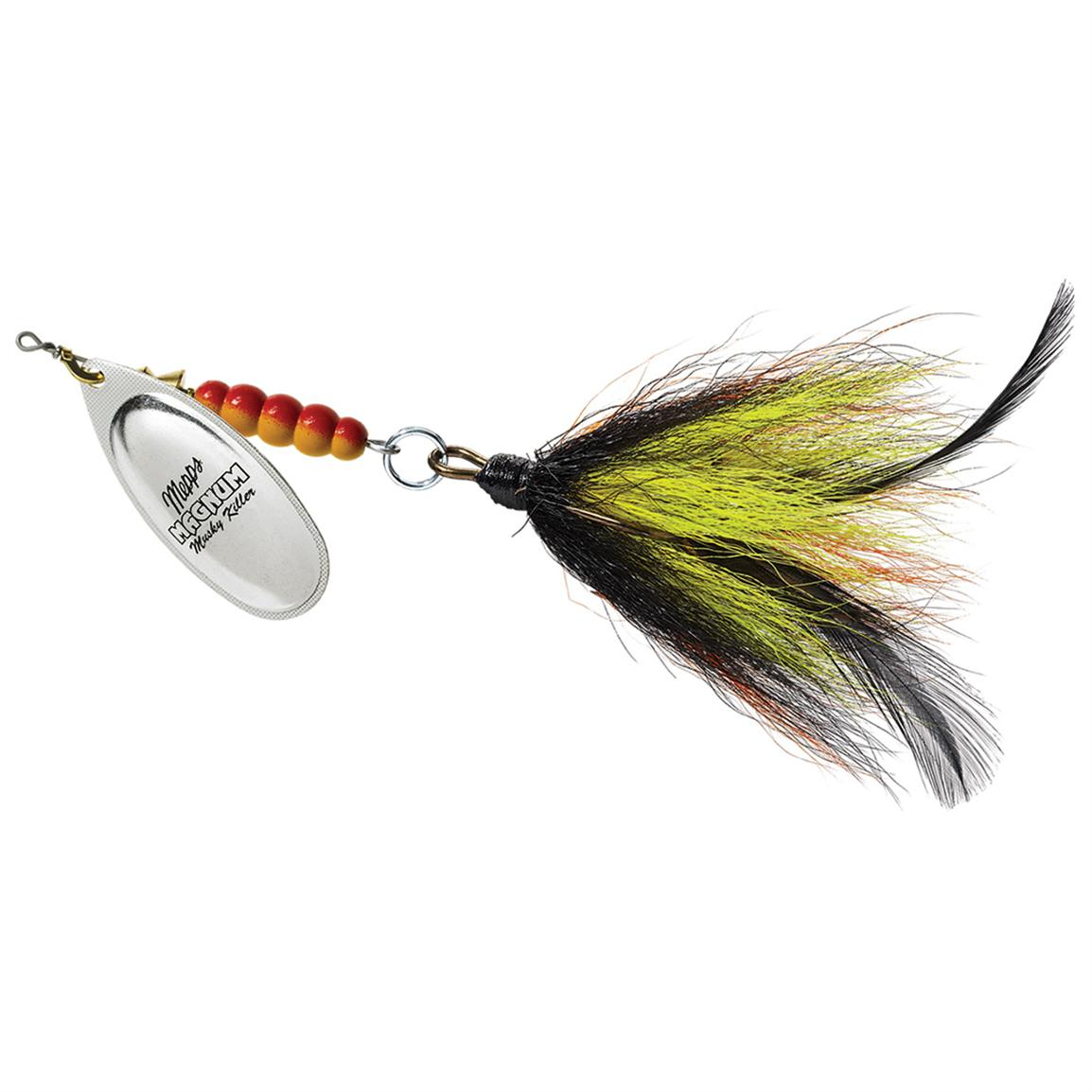 Mepps Magnum Musky Killer, Black Perch