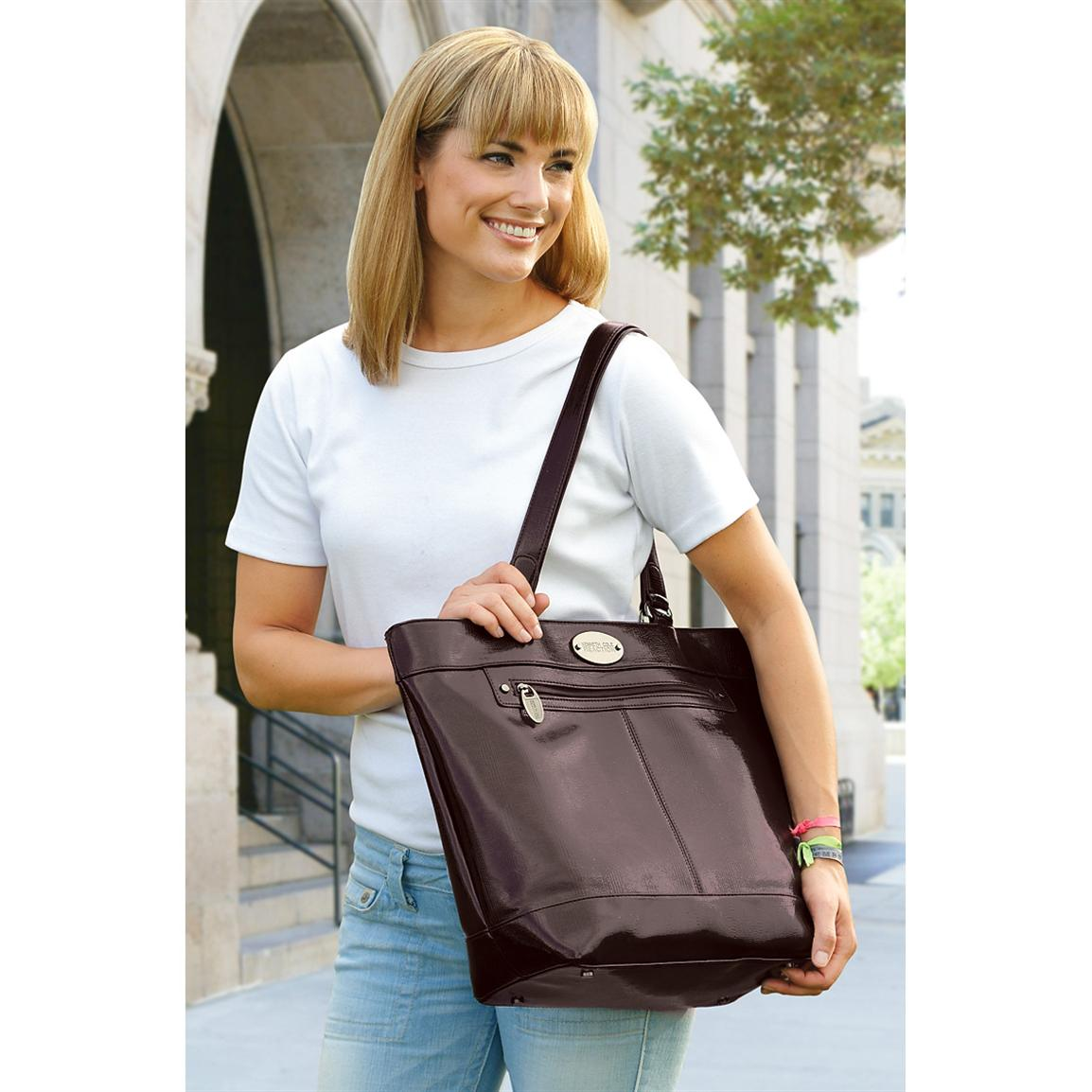 Women's Kenneth Cole® Laptop Bag, Brown