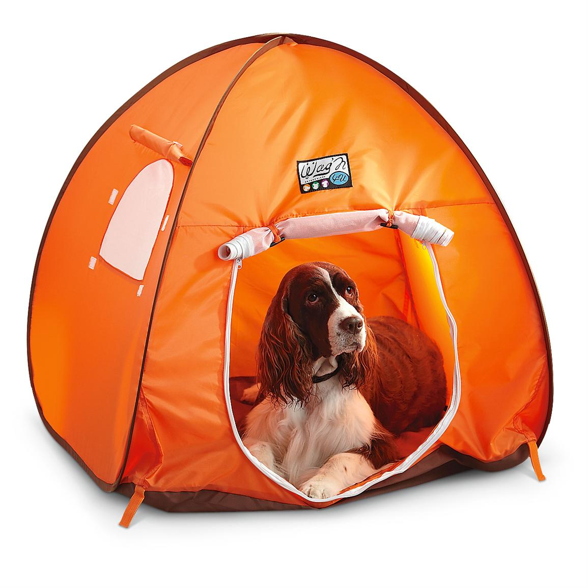 Wagu0027N Crateu0027N Tent® Portable Pet Tent  sc 1 st  Sportsmanu0027s Guide & Wagu0027N Crateu0027N Tent® Portable Pet Tent - 211310 Kennels u0026 Beds at ...