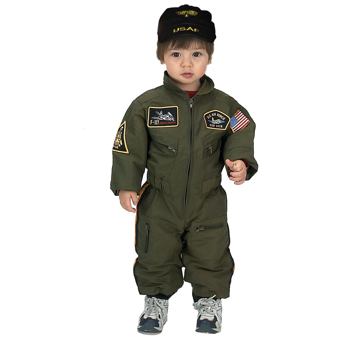 Aeromax® Armed Forces Pilot Suit with Cap