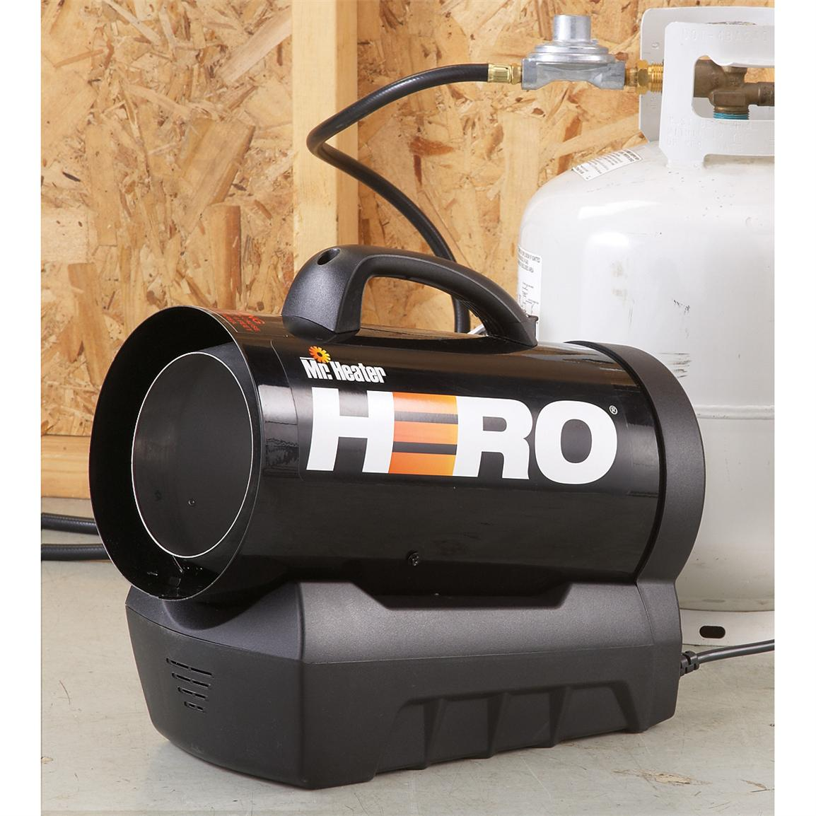 Mr. Heater® Hero 35,000 - BTU Cordless Rechargeable Propane Heater ...