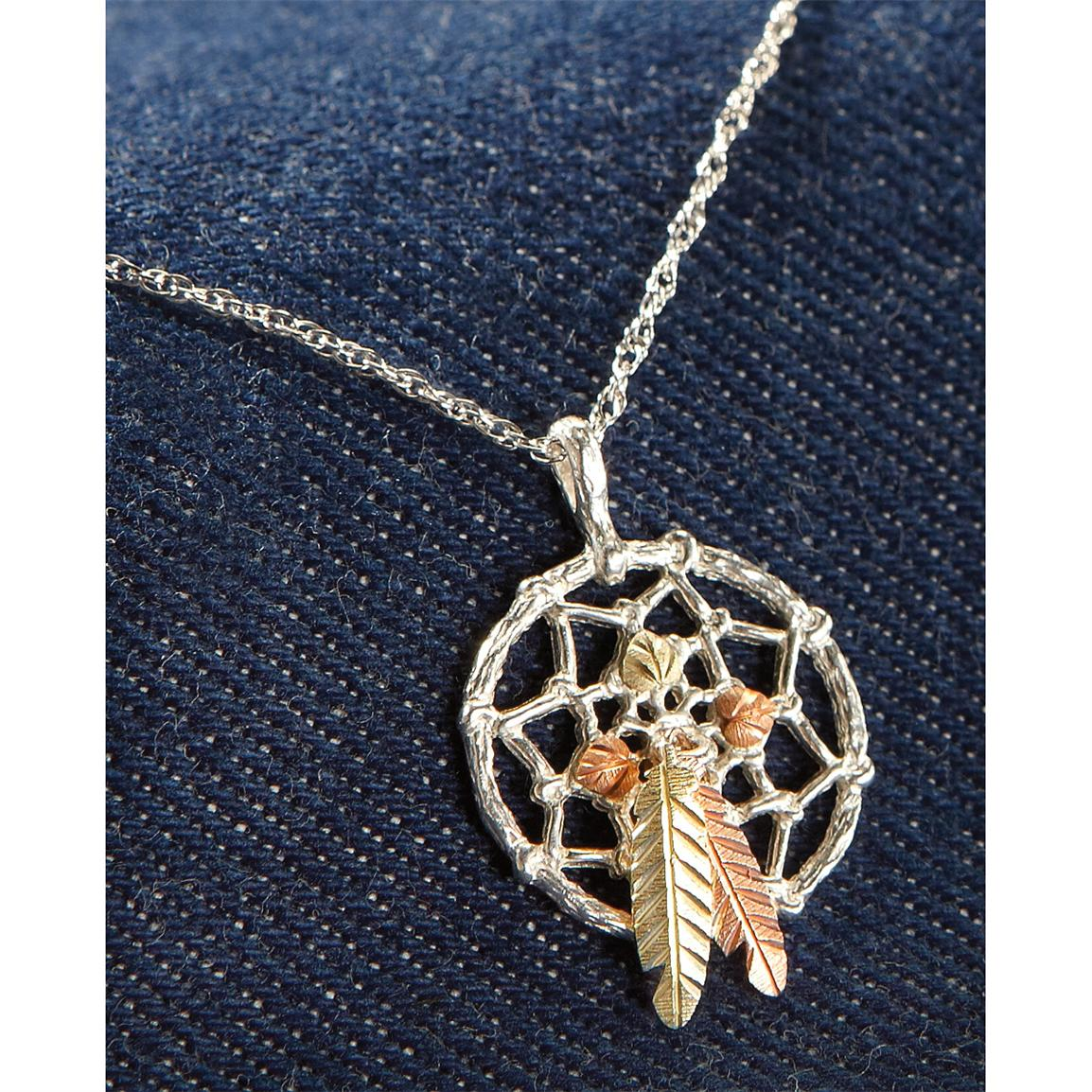 Black Hills Gold by Coleman® Dreamcatcher Necklace