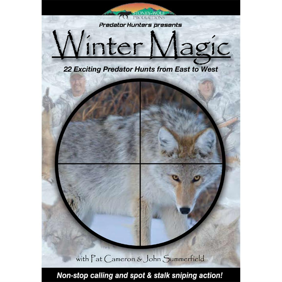 Winter Magic Predator Hunting DVD from Stoney Wolf Productions®