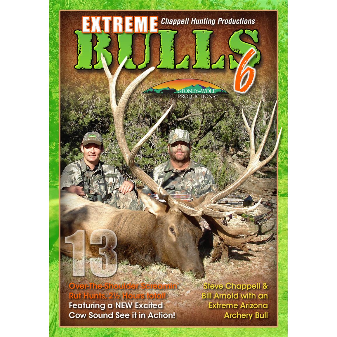 Extreme Bulls 6 DVD from Stoney Wolf Productions®