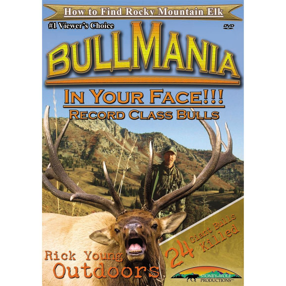 Bull Mania: In Your Face Record Bulls DVD from Stoney Wolf Productions®
