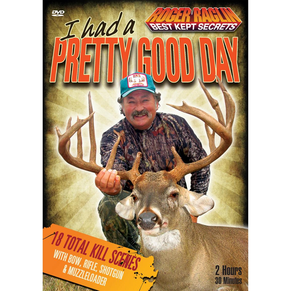 Roger Raglin: I Had a Pretty Good Day DVD from Stoney Wolf Productions®