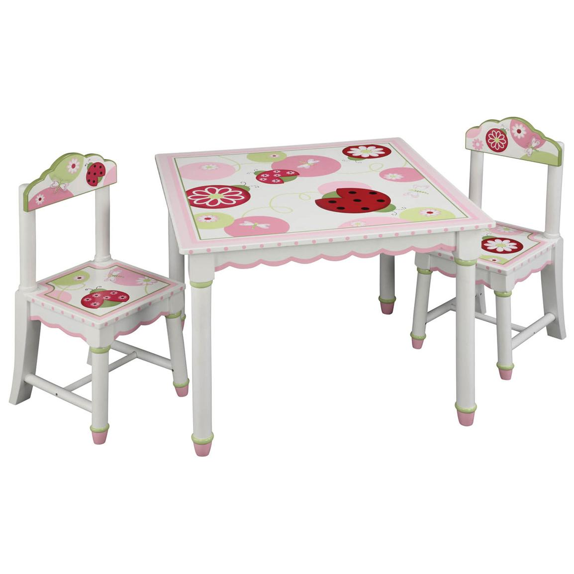 Guidecraft® Sweetie Pie Collection Table and Chair Set