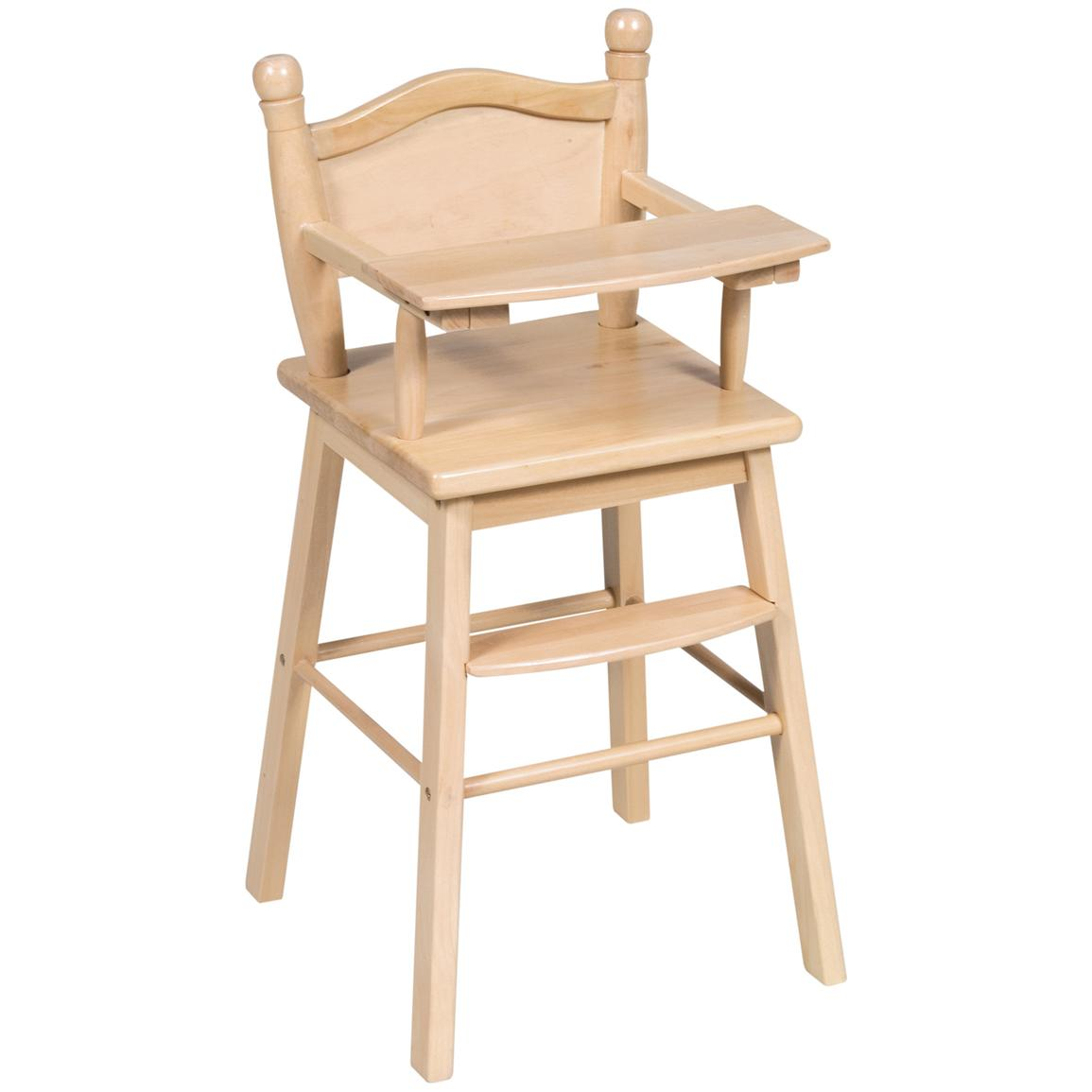 GuideCraft™ Doll High Chair