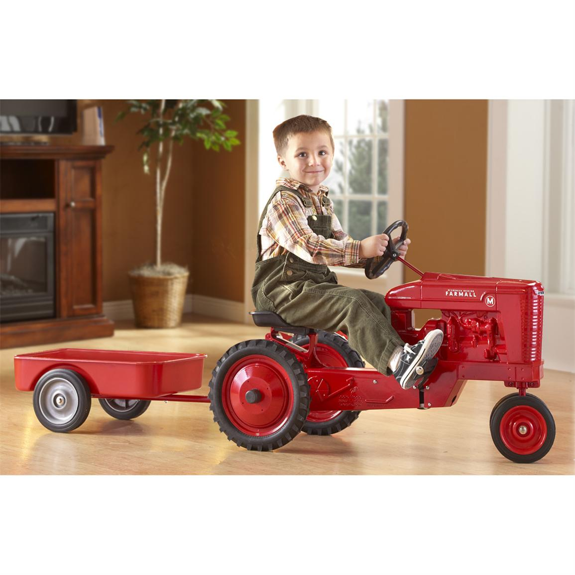 Farmall® M Pedal Tractor, Red