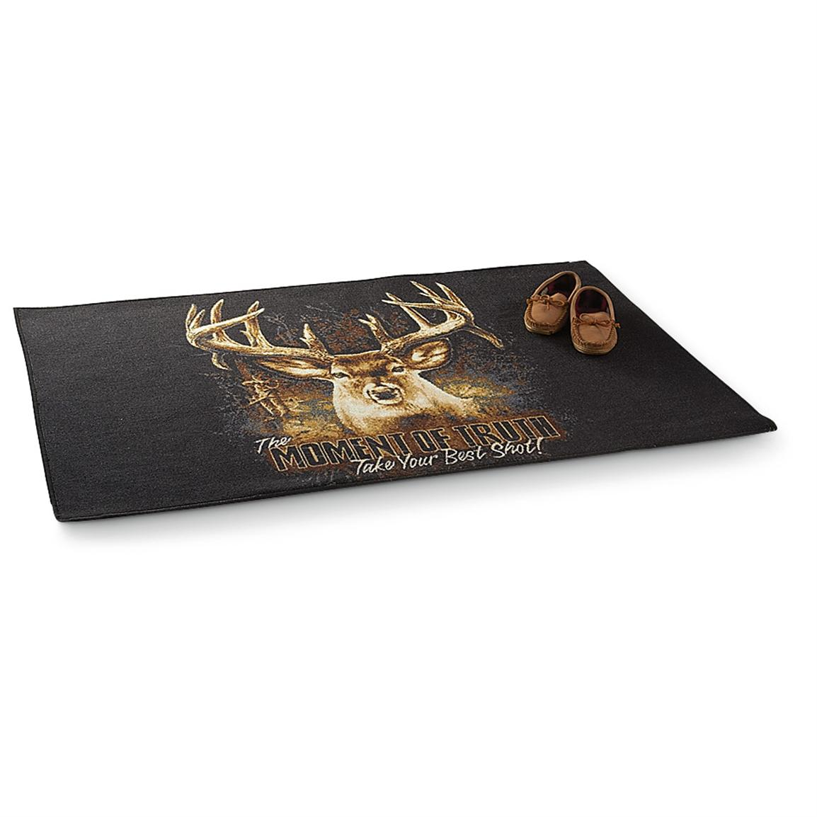 "Buckwear™ ""Moment of Truth"" Printed Rug"