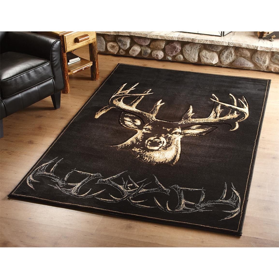 "Buckwear™ ""Moment of Truth"" Area Rug"