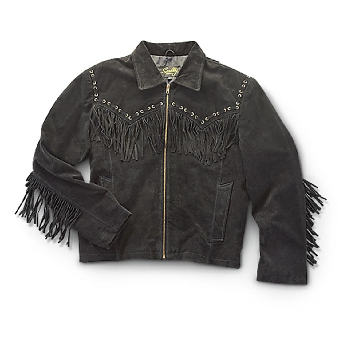 Scully® Fringe Jacket - 212622, Insulated Jackets & Coats at