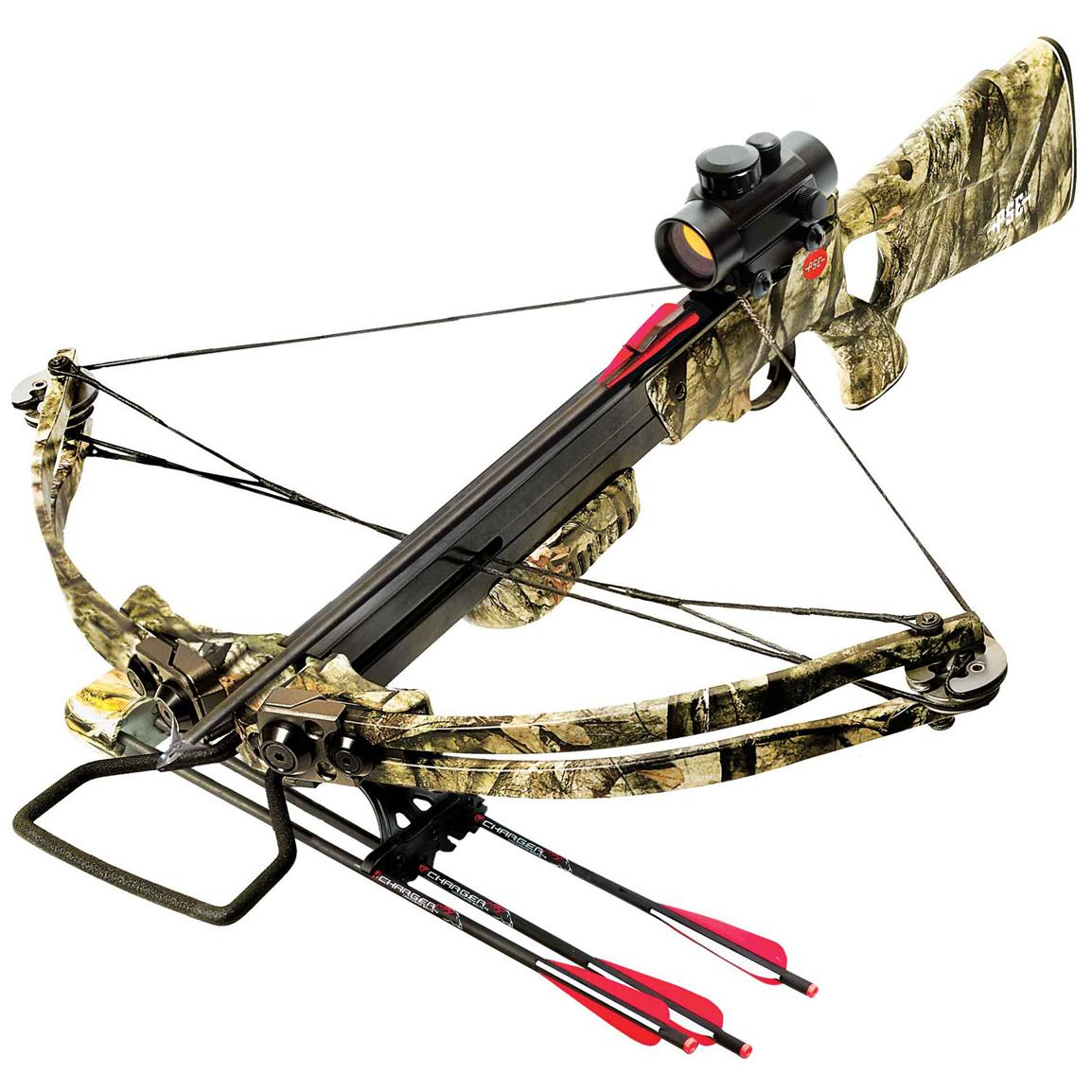 PSE® Reaper™ Crossbow Package with Red Dot Scope