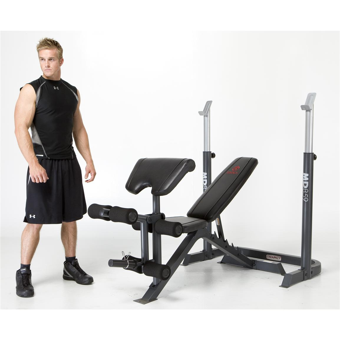 2-Pc. Marcy® Mid-Width Bench and Rack
