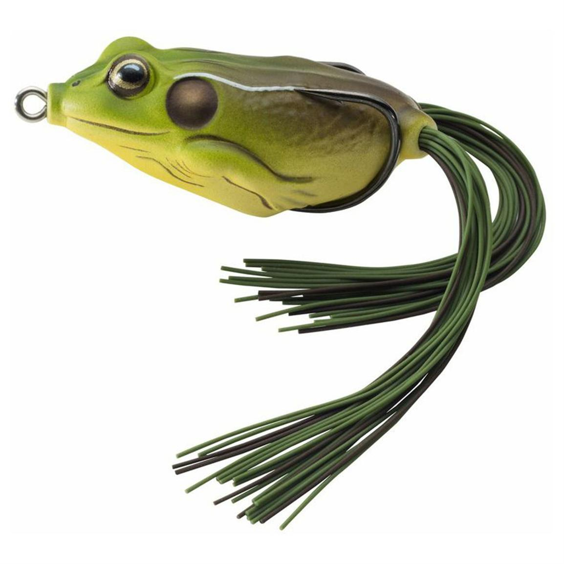 Live target 2 5 8 frog hollow body surface lure 213392 for Frog lures for bass fishing