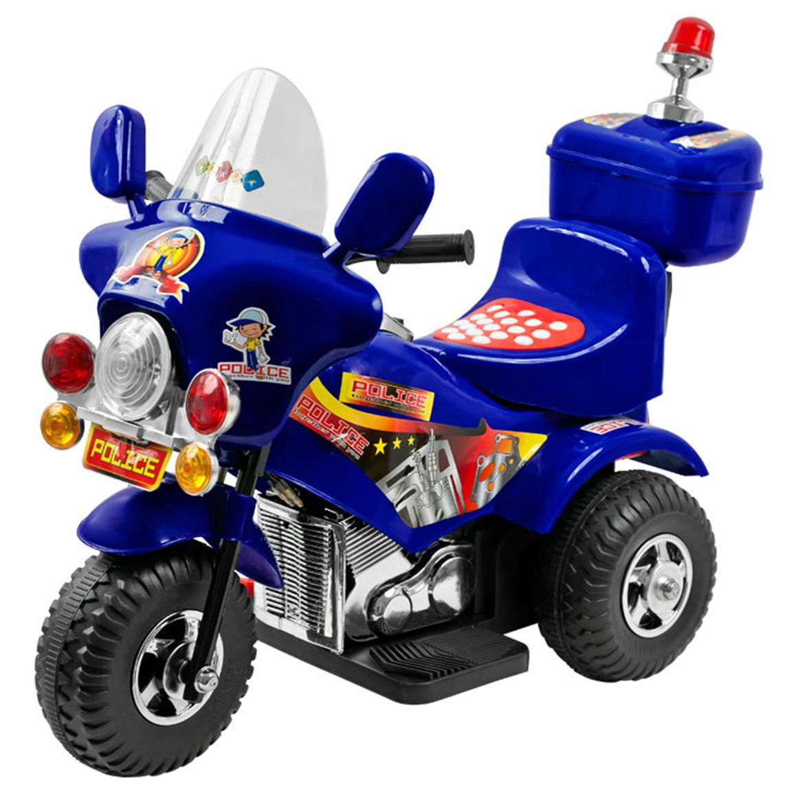 Lil' Rider™ Blue Justice Battery-operated Kids' Police Trike