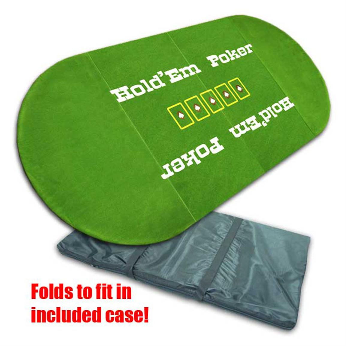 Trademark® Tri-fold Texas Hold 'em Poker Table Top