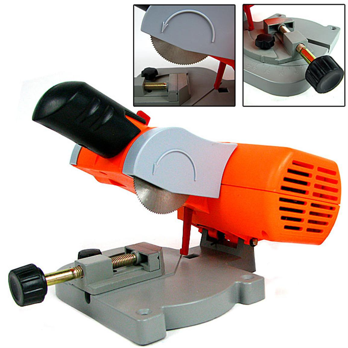 Trademark® Mini Cut-Off Miter Power Saw