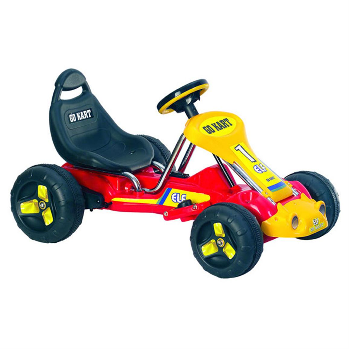 Lil' Rider™ Red Racer Battery-Operated Go Kart