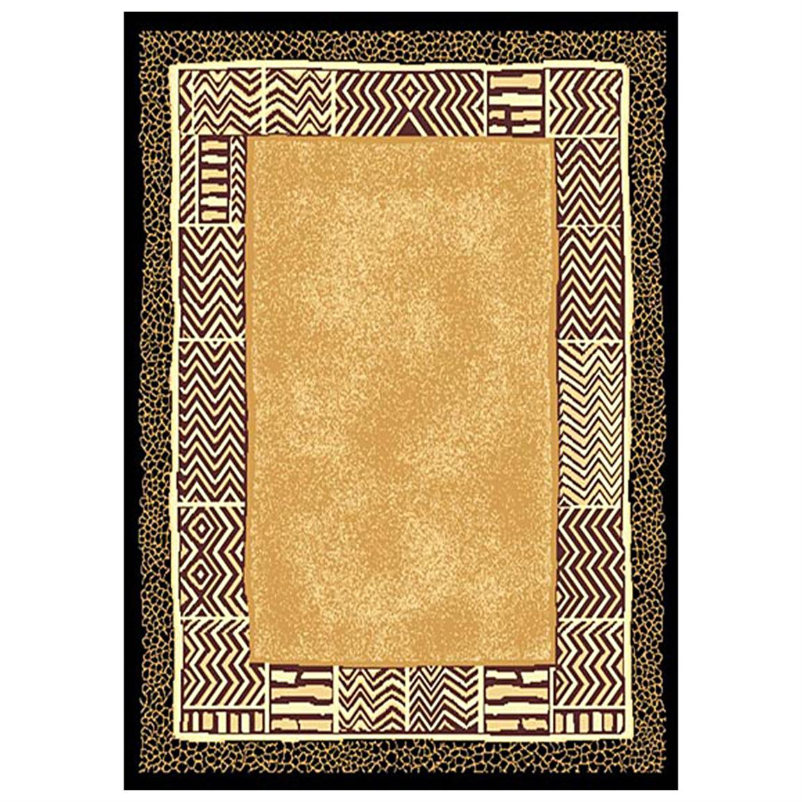 5x8' DonnieAnn® Animal Print Area Rug