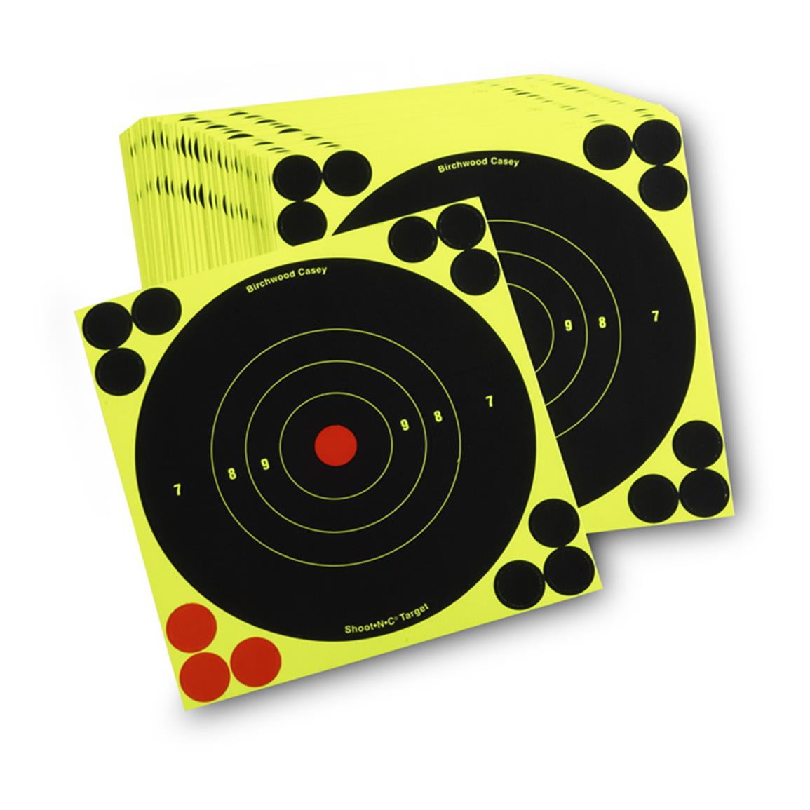 "Reactive 6"" Paper Shooting Targets, 100 Pack"