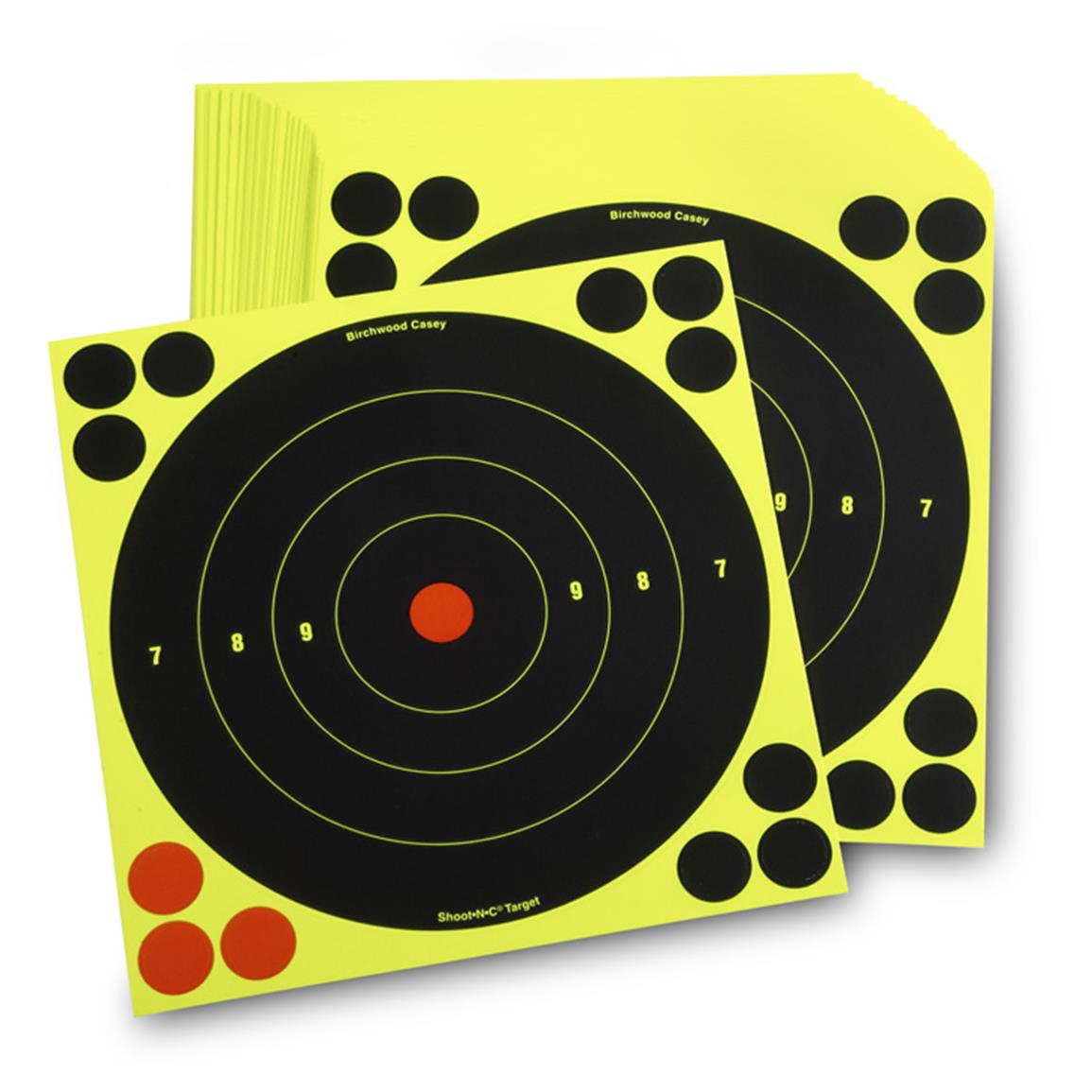 "8"" Reactive Paper Targets, 50 Pack"